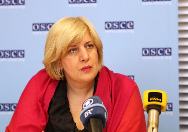OSCE Representative on Freedom of the Media Dunja Mijatovic