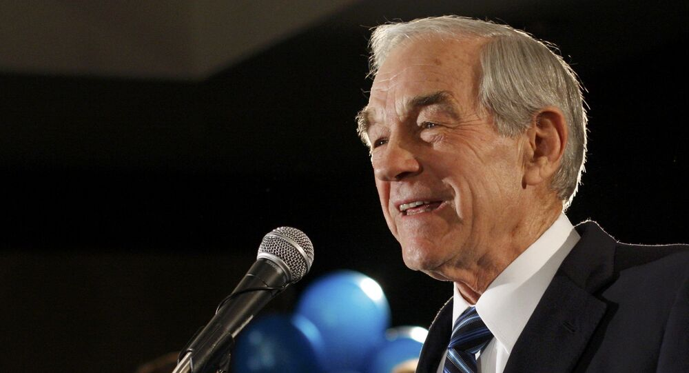Ron Paul, former House of Representatives lawmaker for Texas