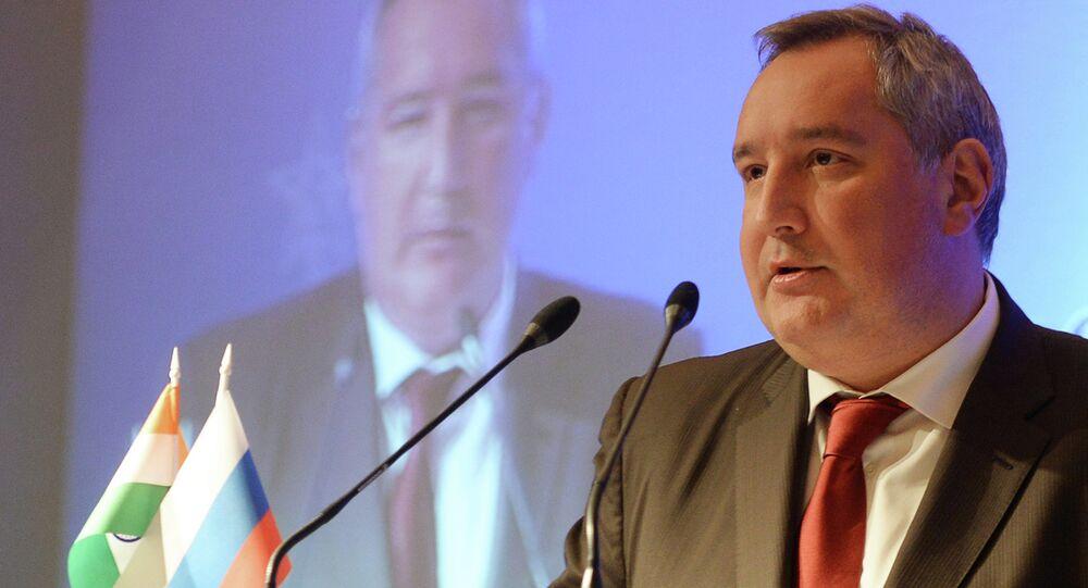 Dmitry Rogozin visits India