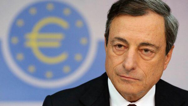 The European Central Bank (ECB) president Mario Draghi - Sputnik International