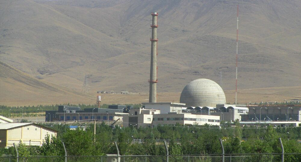 Arak IR-40 Heavy Water Reactor, Iran