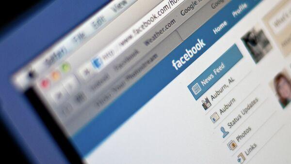 Facebook social network - Sputnik International