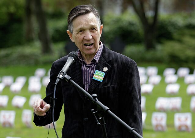 Dennis John Kucinich, former U.S. Representative from Ohio