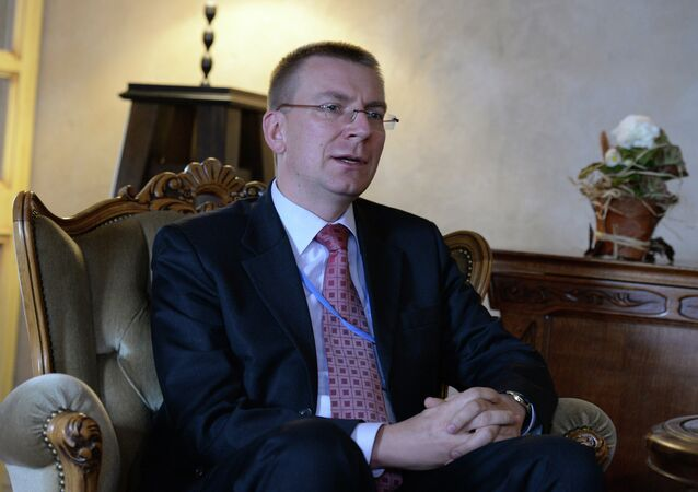 Latvian Foreign Minister Edgars Rinkevics will visit Kiev in early January and is ready to visit Moscow before January 19 – the date of the next meeting of the European Union's Foreign Affairs Council in Brussels.