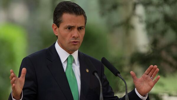 Mexico's President Enrique Pena Nieto - Sputnik International
