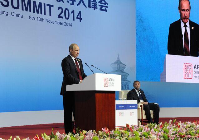Vladimir Putin at APEC summit