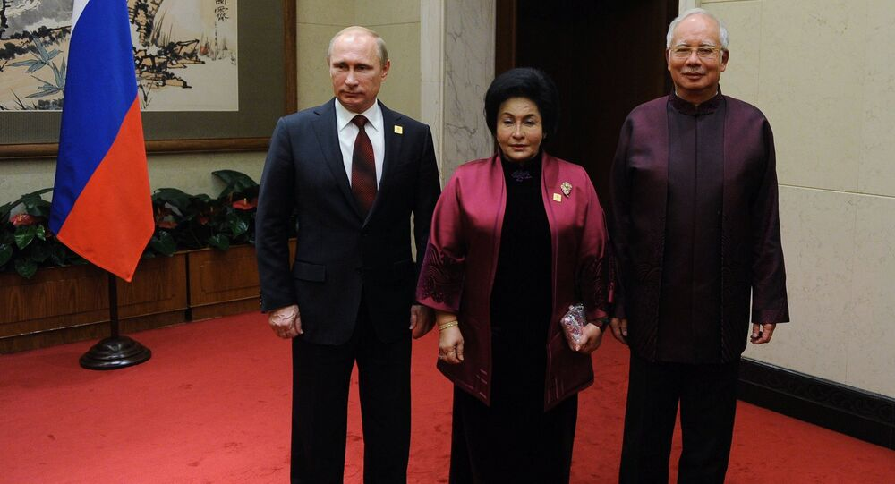 Vladimir Putin at APEC summit