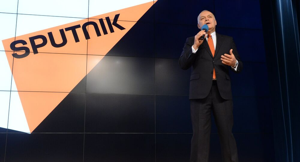 Dmitry Kiselyov presented new media brand Sputnik
