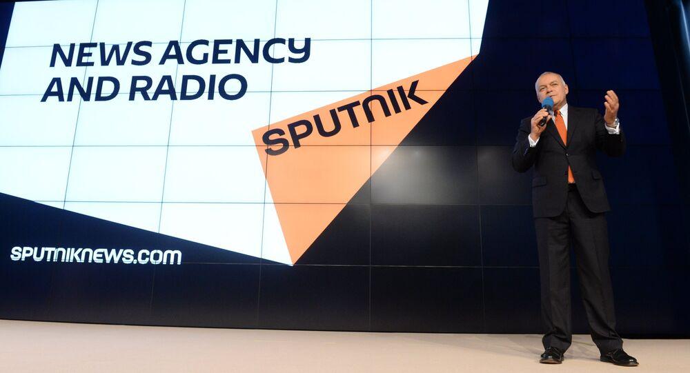 Dmitry Kiselev presented new media brand Sputnik