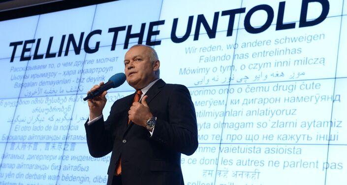 Rossiya Segodnya Director General Dmitry Kiselev