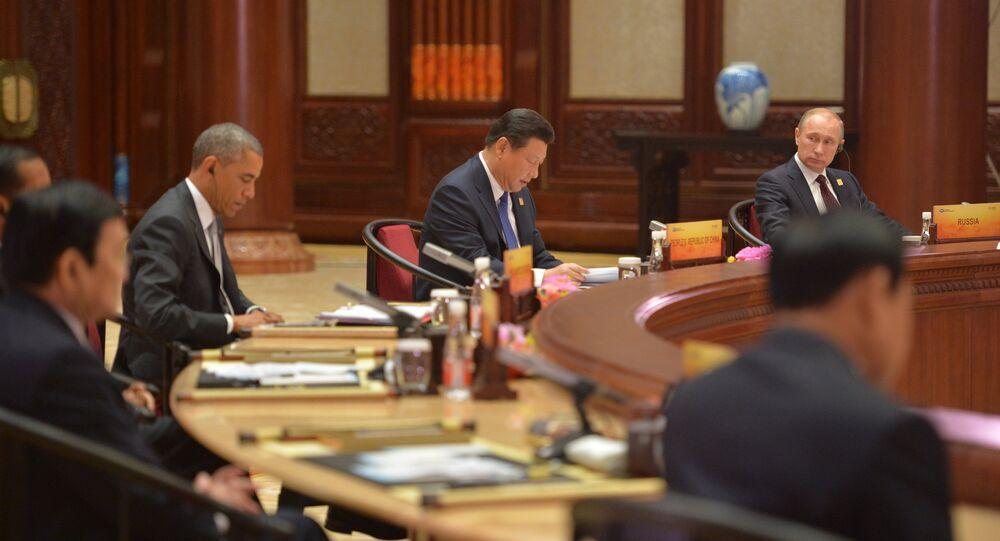 Vladimir Putin attends APEC summit