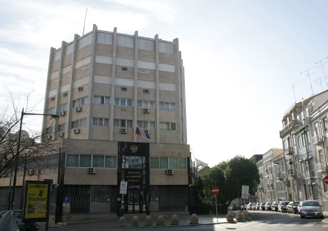 The Russian Embassy in Portugal