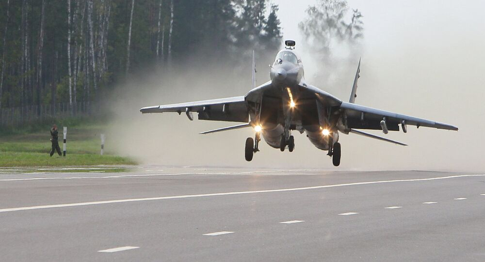 Military exercise in Belarus