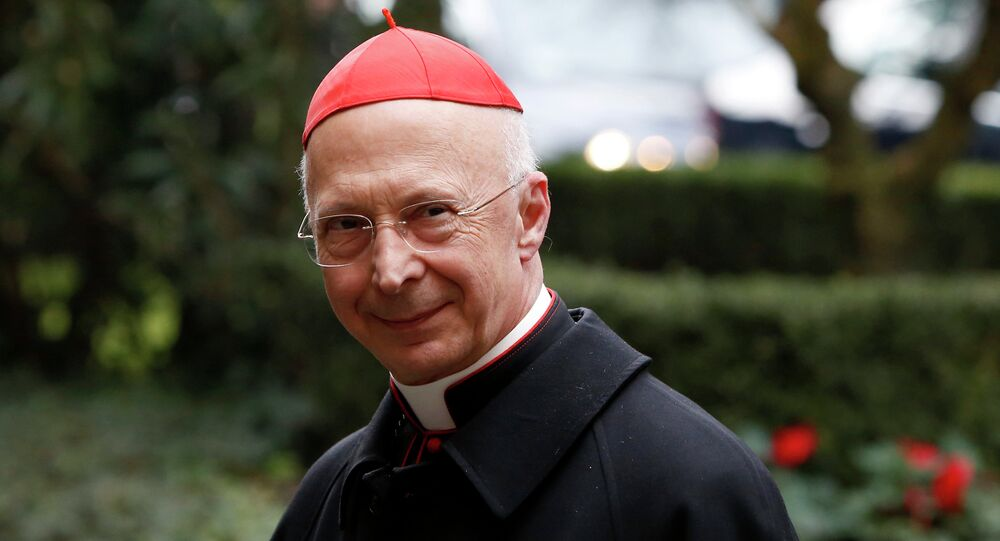 Cardinal Angelo Bagnasco, president of the Italian Episcopal Conference