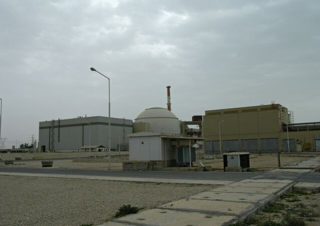 Nuclear power plant in Bushehr (Iran)