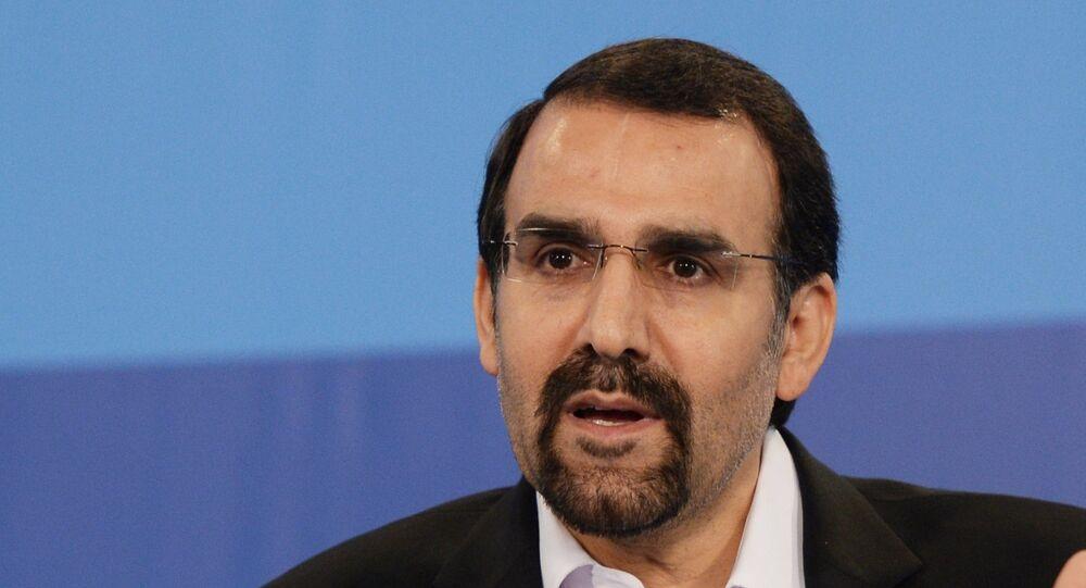 Iran's Ambassador to Russia Mehdi Sanaei.