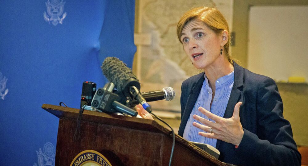 US Ambassador to the UN Samantha Power slammed North Korea amid the Security Council's discussion of a report on the human rights situation in the country
