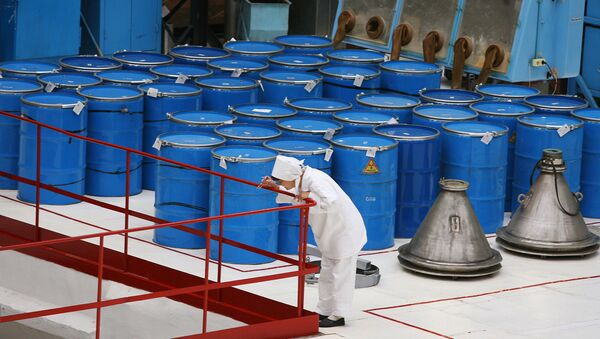 Iran has stopped processing uranium, using the advanced IR-5 centrifuge, a controversial enrichment method reported by the International Atomic Energy Agency. - Sputnik International