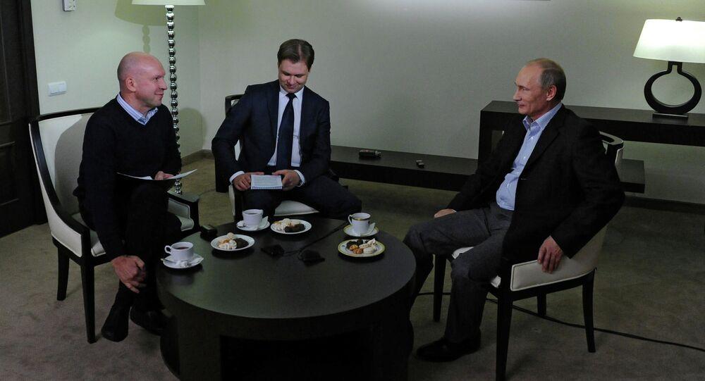 Vladimir Putin gives interview to TASS news agency