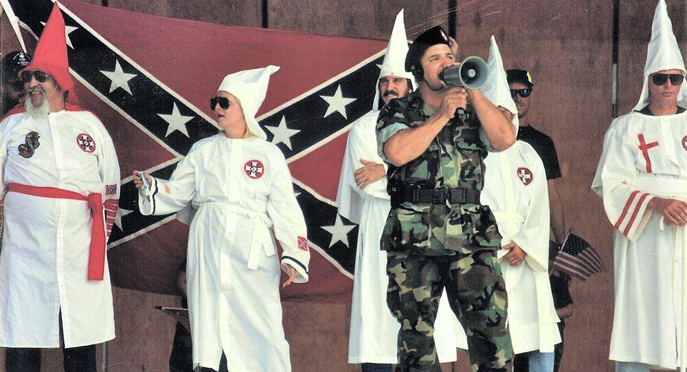 Ku Klux Klan Meeting in Boca Raton, Florida