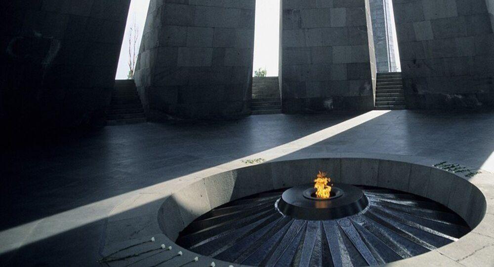 Armenia,Yerevan, interior of the Armenian Genocide Monument