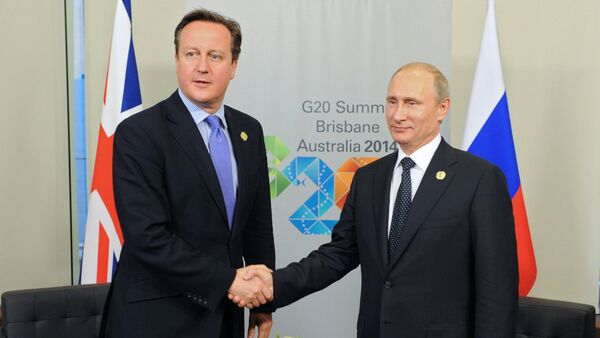 UK Prime Minister Cameron outlined his vision of the situation in southeastern Ukraine and Russian President Putin gave a very detailed comment on the issue, Kremlin spokesman said. - Sputnik International