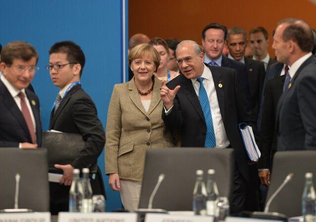 Vladimir putin during G20 summit