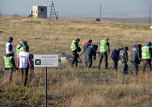 OSCE experts examine Malaysian aircraft crash site