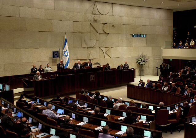The opening session of the Knesset