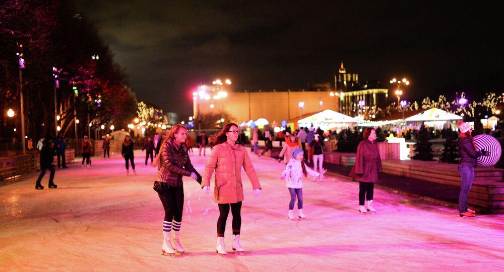 Skating Roll in Gorky Park