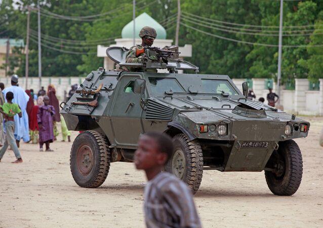 A Nigerian soldier