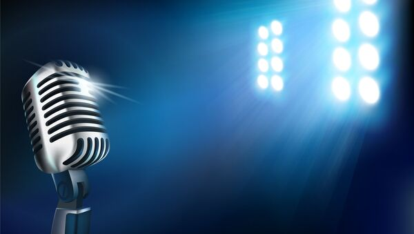 Microphone on stage - Sputnik International