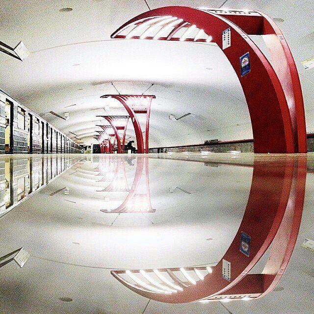 Alma-Atinskaya station of the Moscow Metro