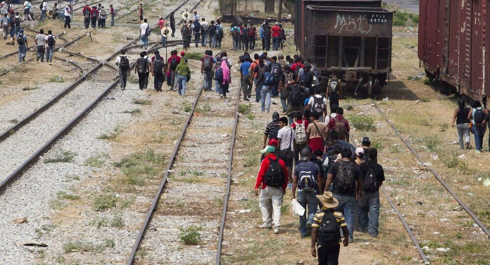 Almost 70,000 children were apprehended at the US border with Mexico in 2014.