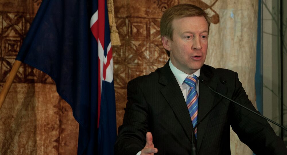 New Zealand Minister of Defense, Jonathan Coleman