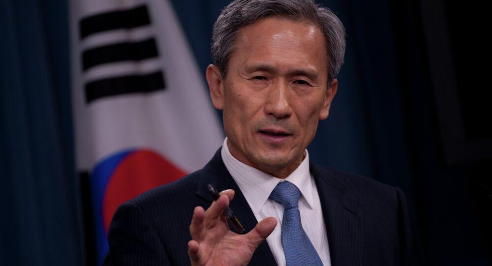 Minister Kim Kwan Jin