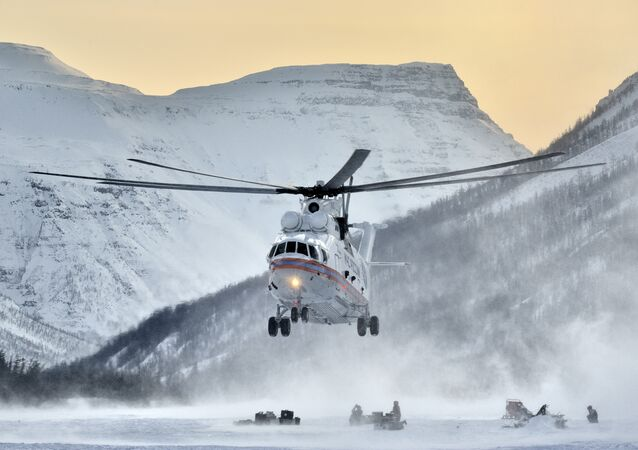 Mil Mi-26 helicopter