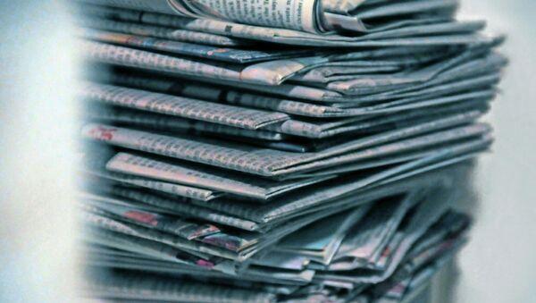 Russia should continue pressing ahead with its position despite the European media blockade. - Sputnik International