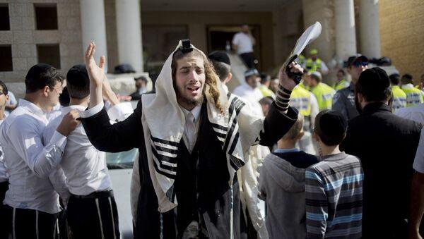 An ultra-Orthodox Jewish man - Sputnik International