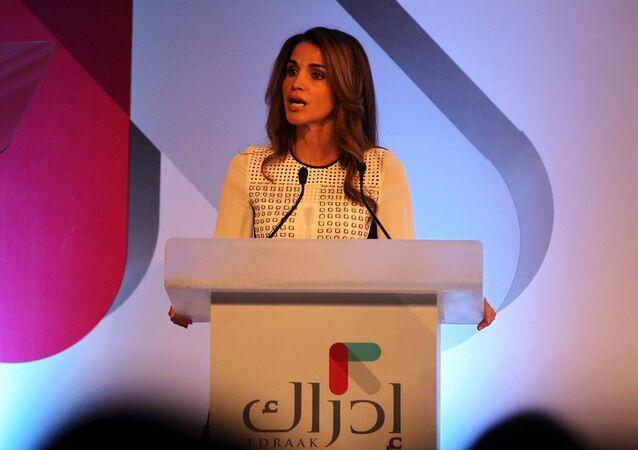 Jordanian Queen Rania