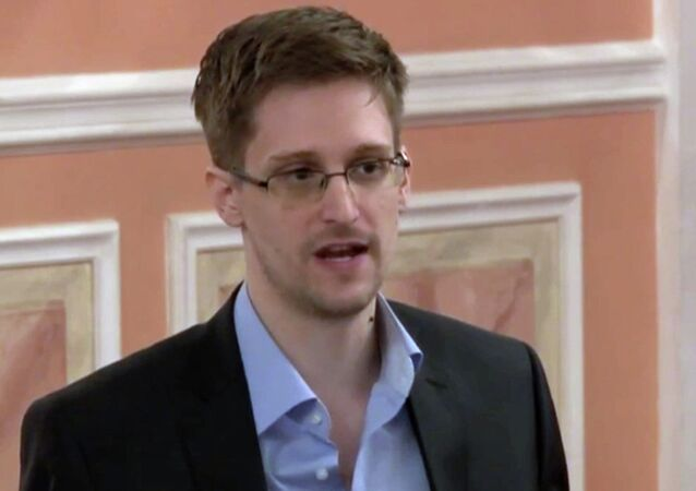 Former NSA contractor Edward Snowden