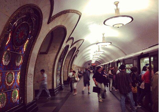 Novoslobodskaya station of the Moscow Metro