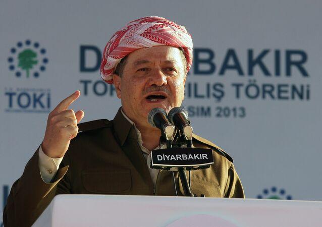 Iraqi Kurdish leader Masoud Barzani