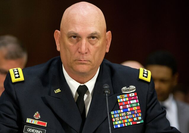 US Army Chief of Staff Ray Odierno