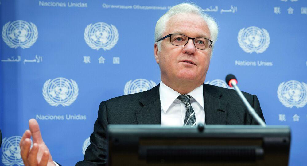 Russian UN Ambassador Vitaly Churkin