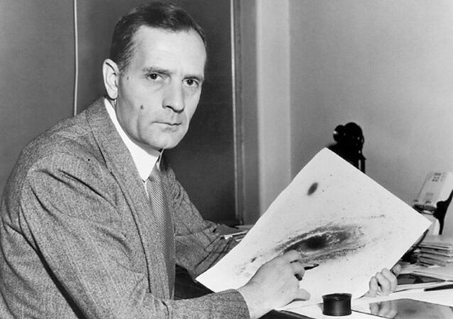 Edwin Powell Hubble (1889-1953), US astronomer and cosmologist