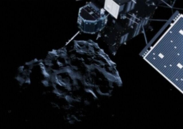 """""""Riding"""" the Comet: Scientists Study Signals Transmitted by Philae Space Probe"""