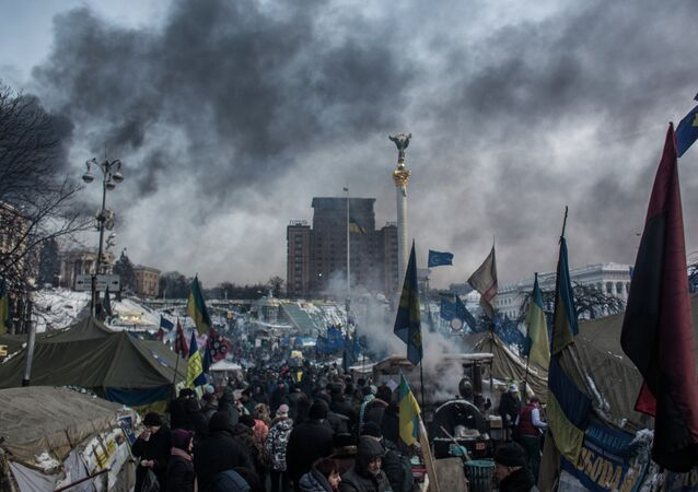 Polling conducted by the Russian Public Opinion Research Center (Vtsiom), post-Soviet Russia's oldest polling institution, has found that 94 percent of Russians would not like to see a Euromaidan-like scenario in Russia, and 76 percent are confident that such a revolt is not possible in principle.