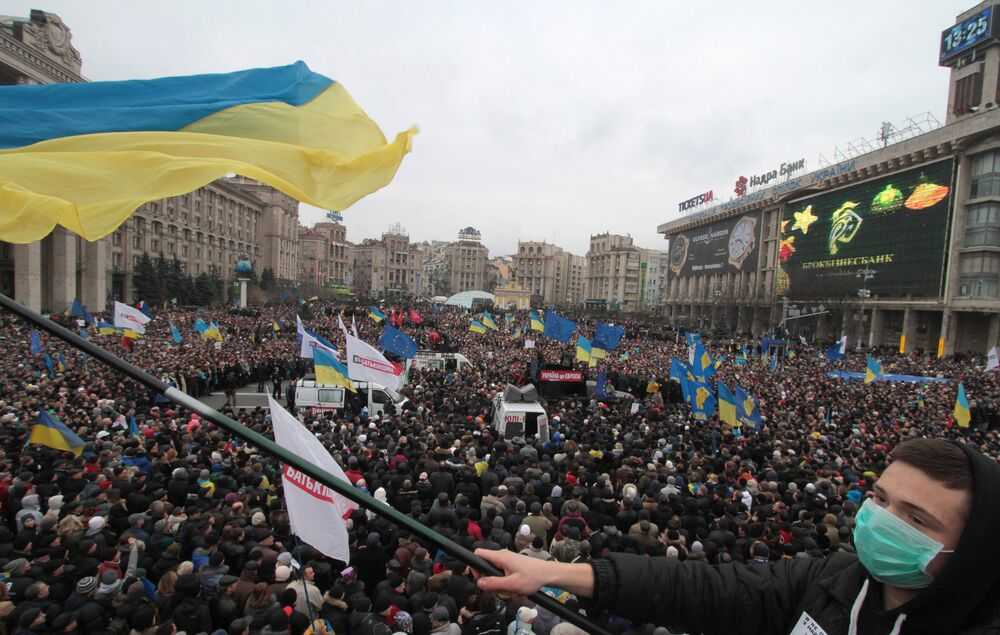 Rally to support Ukraine's EU integration