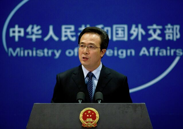 Foreign Ministry spokesman Hong Lei